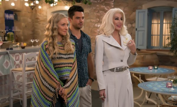 Sophie (Amanda) and Sky with Sophie's grandma Cher