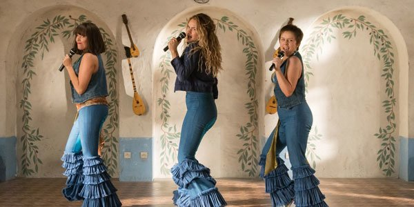 Lily James and Amanda Seyfried Love Mamma Mia! Here We Go Again