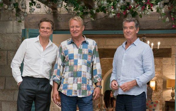 Older Harry, Bill and Sam reunite on the island