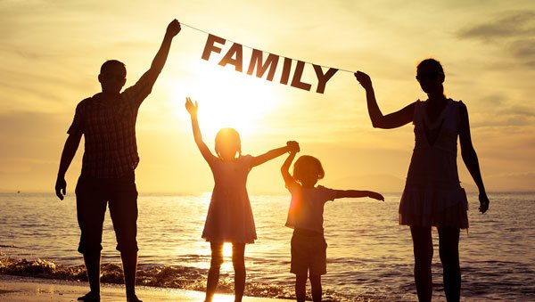Spend quality time with your family.