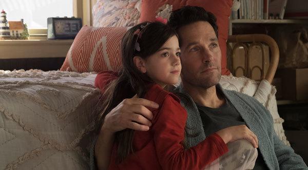 Scott/Ant-Man with daughter Cassie