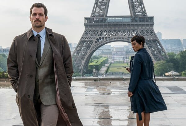 Henry as Walker with boss Angela Bassett