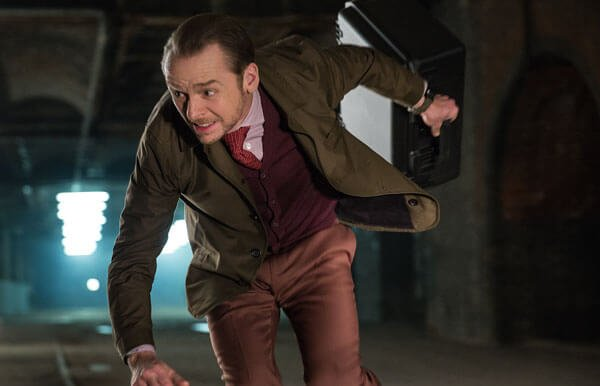 Simon Pegg on the run
