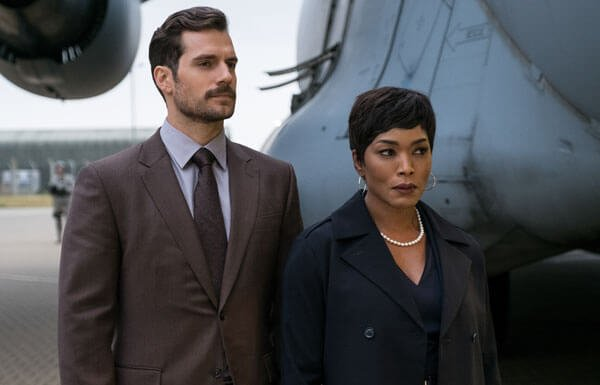 Walker (Henry) gets his assignment from boss Sloan (Angela Bassett)