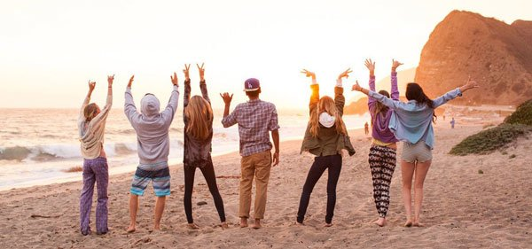 Summer is about having fun with your friends.