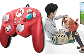 GameCube Styled Pro Controllers and New Nintendo Labo Tech