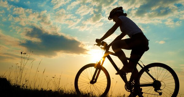 Riding bikes is a great summer pastime.