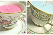 Warm and Cozy Teacup Candles