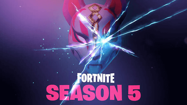 Season 5's tease from Fortnite's official Twitter account.