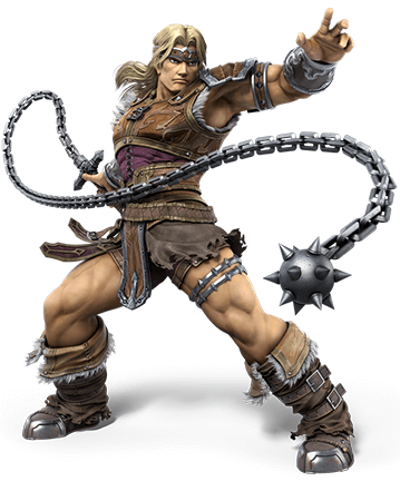 Simon Belmont brings the Castlevania franchise to Super Smash Bros.