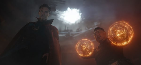 Can Wong and Dr. Strange hold off Thanos thugs?