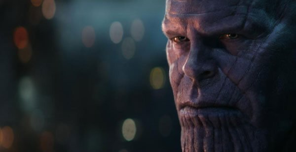 Josh Brolin plays Thanos in motion capture gear