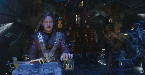 Star Lord and Guardians go to find Gamora