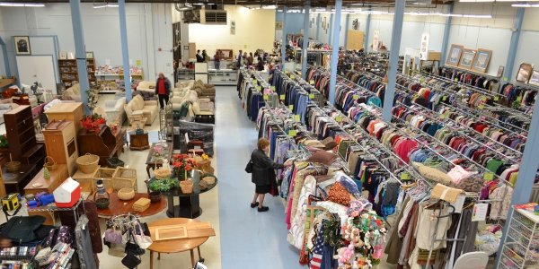 Thrift shops are a treasure trove of vintage fashion if you have the patience and the know-how to shop for the best merchandise.