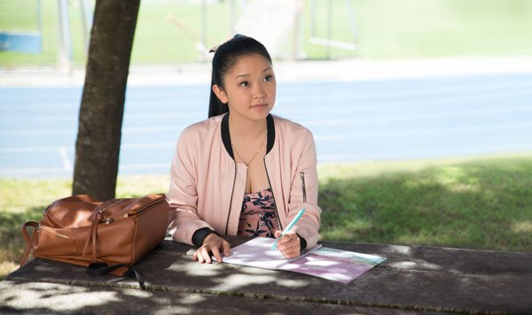 Lara Jean writes a contract for the fake relationship with Peter