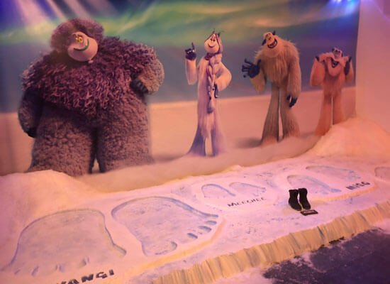 Say hello to new Yeti friends from the film