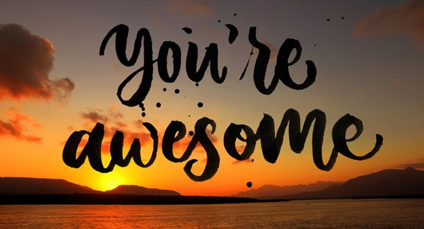 You're awesome and you should speak your mind.