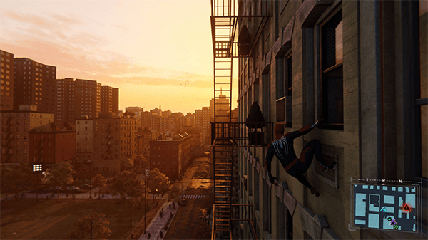 Marvel's Spider-Man sets a high bar for open world visuals.