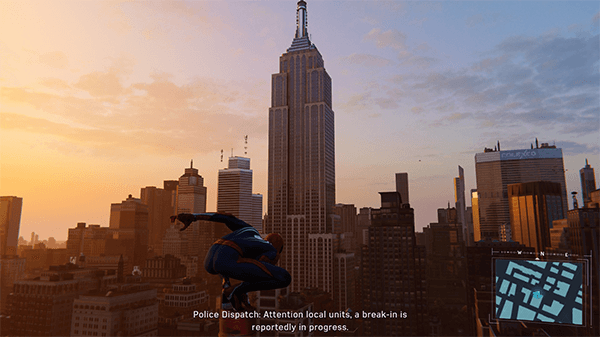 Memorable land marks cover the world next to the fictional Marvel buildings.