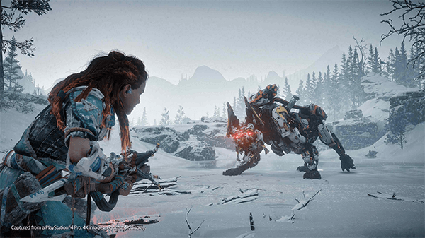 The Frozen Wilds DLC centers around the snowy biome.