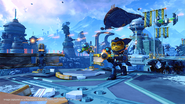 2016's Ratchet and Clank gave the original a complete overhaul.