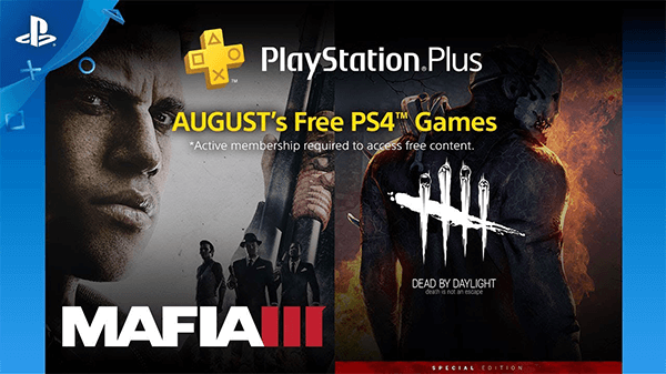 PlayStation's PS4 headliners of August 2018.