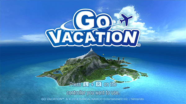 The start screen shows off Kawawii Island.