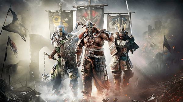 For Honor is Ubisoft's online multiplayer fighter.