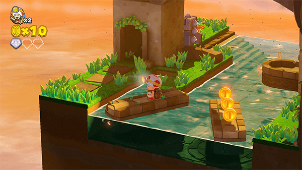 Captain Toad's visuals look much clearer than the Wii U days.