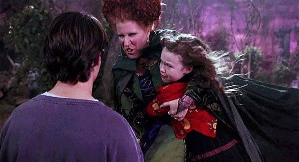 Witchy Winifred kidnaps Dani