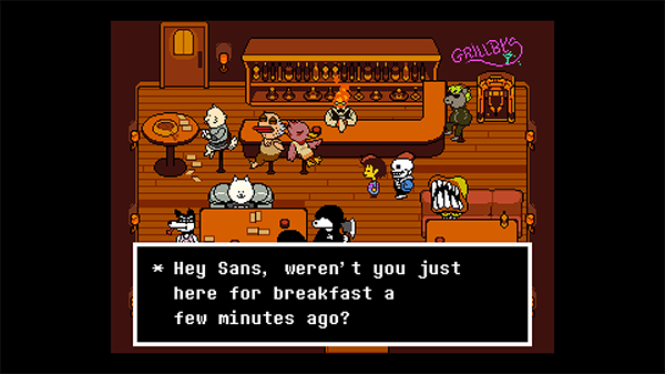 Undertale's snappy writing comes to Switch soon.