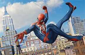 Preview preview sticking with spider man ps4