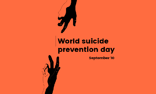 World Suicide Prevention Day is September 10th.