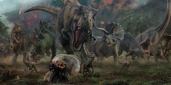 Jurassic World Fallen Kingdom Blu Ray Review Chris Pratt Dinosaur
