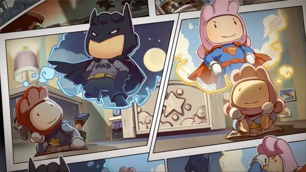 Scribblenauts Unmasked and Scribblenauts Unlimited colide into one mega pack!
