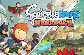 Preview scribblenauts mega pack pre