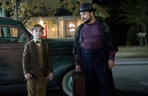Jack Black and Owen Vaccaro Face The House with a Clock in Its Walls