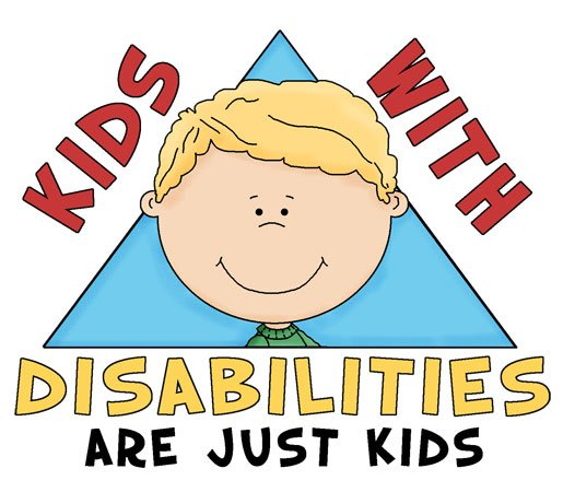 Kids with disabilities are just kids.