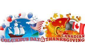 Columbus Day and Canadian Thanksgiving