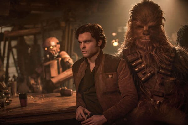 Han and Chewie make a great team