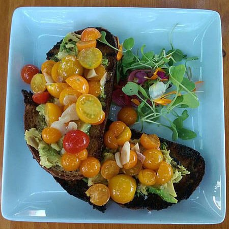 Try adding tomatoes to your avocado toast