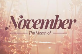 Preview the month november pre