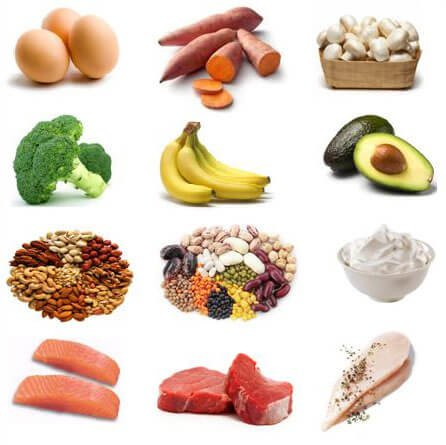 Foods high in Vitamin B