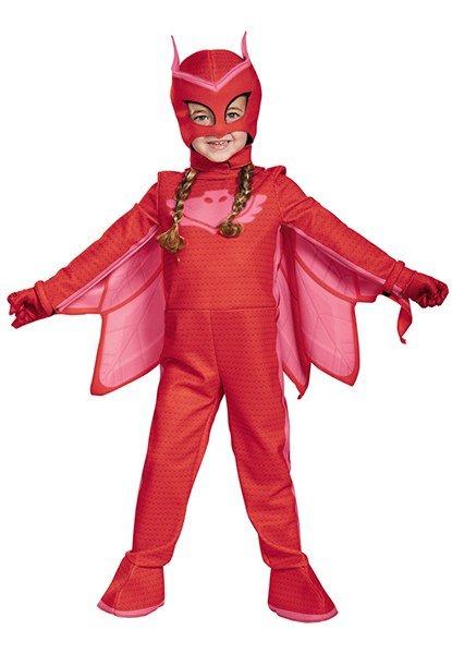 Toddler PJ Masks Deluxe Owlette Costume