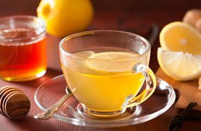 Preview ginger lemon honey tea pre