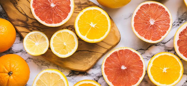 Citrus fruits are high in Vitamin C