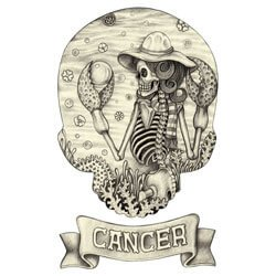 Cancer is scary when they are in a bad mood.