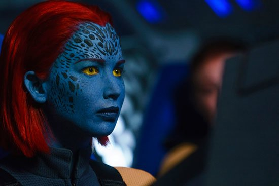 Jennifer Lawrence stars as Raven/Mystique