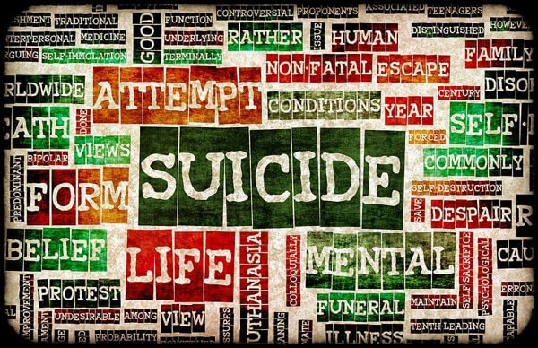 Suicidal thoughts can affect anyone.