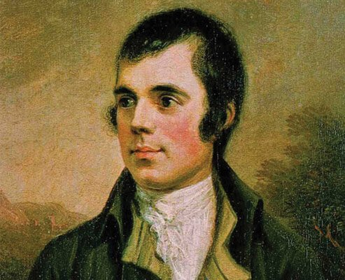 Robbie Burns Day celebrates of the life and poetry of the poet Robert Burns